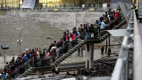 Der Flüchtlingsstrom reicht von Dänemark bis Schweden