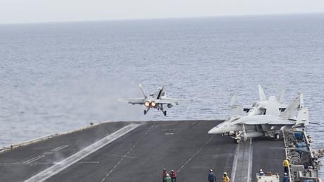 US-Flugzeugträger im Mittelmeer