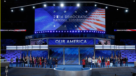 Große Show beim Parteikonvent der Demokraten in Philadelphia