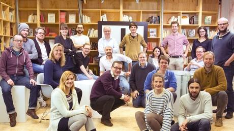 Das Team des Rechercheprojektes correctiv.org
