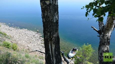 Idylle am Baikal-See. Foto: Ulrich Heyden