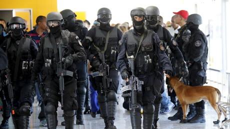 Brasilianische Spezialeinheiten bei einer Anti-Terrorübung