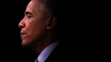 U.S. Präsident Barack Obama hält eine Konferenz im Pentagon