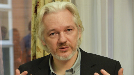 Der Aktivist Julian Assange muss seit 2012 in der ecuadorianischen Botschaft in London bleiben.