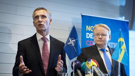 Tradionell eng verbunden: Die NATO und Schweden