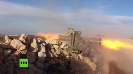 Syrien: Offensive der syrischen Armee zwingt Al-Nusra Front und ihre Verbündeten zum Rückzug