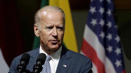 US-Vizepräsident Joe Biden in Riga, 23. August 2016