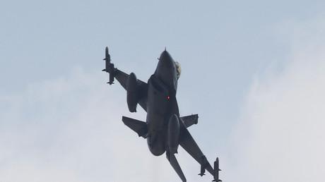 Türkisches F-16 im Einsatz