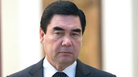 Turkmenistans umstrittener Präsident zu Gast bei Merkel
