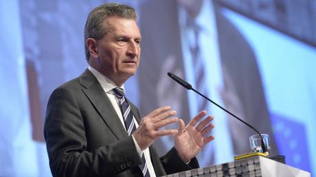 Günther Oettinger ist der EU-Kommissar für Digitale Wirtschaft und Gesellschaft. Zuvor war der CDU-Politiker von 2005 bis 2010 Ministerpräsident des Landes Baden-Württemberg