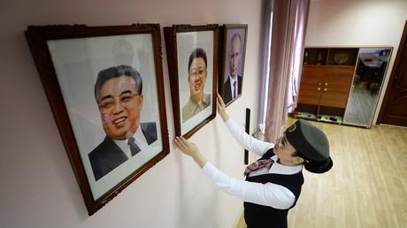Führerkult in Nordkorea. Dem russischen Regisseur Vitaly Mansky gelang ein außergewöhnlicher Film über das abgeschottete Land.