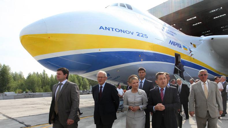Ukraine verkauft Produktionsstätte und Know-how für weltgrößtes Frachtflugzeug An-225 an China
