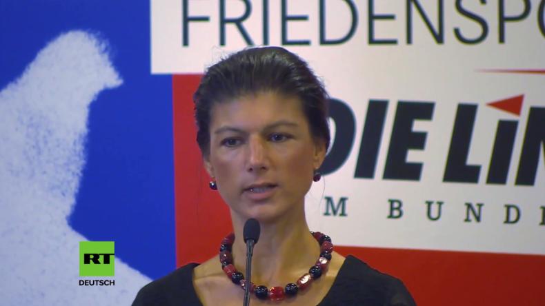 """Wagenknecht kritisiert Regierung: """"Islamisten können dort eindringen, wo früher der Staat war"""""""