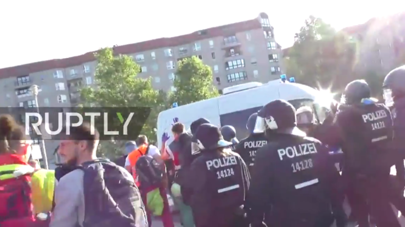 Live: Blockupy-Protest in Berlin