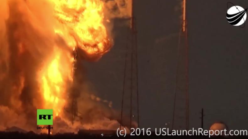 Cape Canaveral: Erneut explodiert Rakete von SpaceX – Facebook-Satellit zerstört