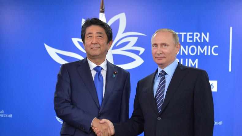 """Putin über Territorialstreit mit Japan: """"Wir verhandeln über keine Gebiete"""""""