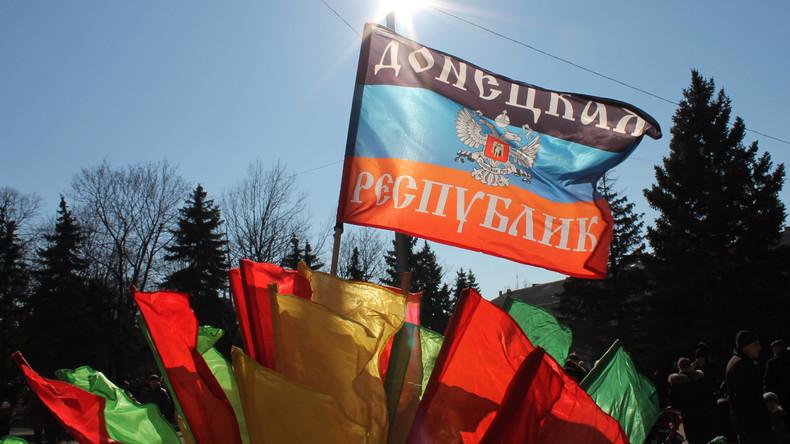 """""""Not amused"""" zeigt sich die Ukraine über die Eröffnung einer diplomatischen Vertretung der international nicht anerkannten """"Volksrepublik Donezk"""" in der tschechischen Großstadt Mährisch-Ostrau."""