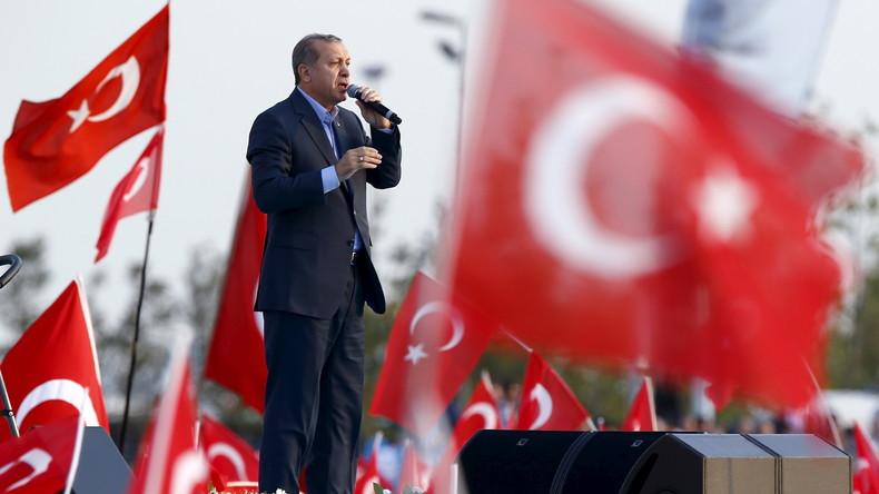 """Erdogan über kurdische YPG: """"Westen muss sich für oder gegen den Terror entscheiden"""""""