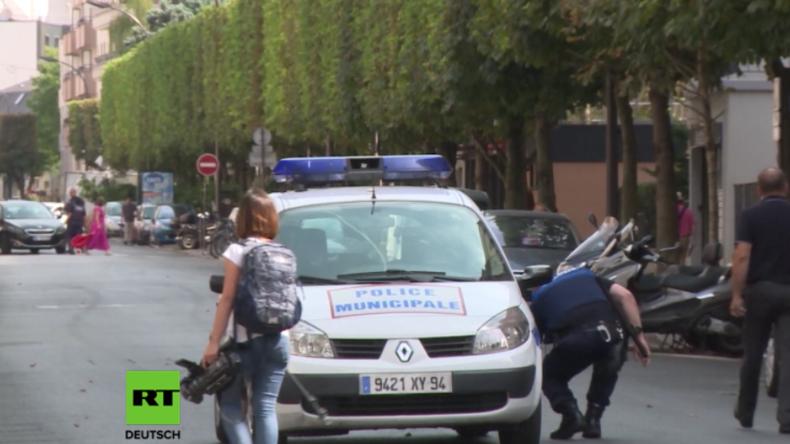 Frankreich: Mann greift Sanitäterin an und sticht Polizisten in den Hals – Polizei erschießt ihn