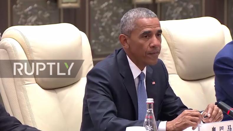 Live: Obama hält im Anschluss an G20-Gipfel Pressekonferenz