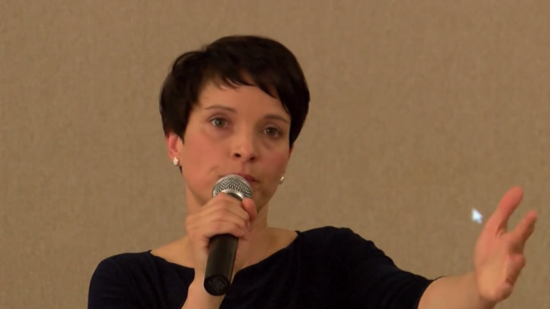 Live: AFD-Vorsitzende Petry kommentiert Wahlerfolg in Mecklenburg-Vorpommern