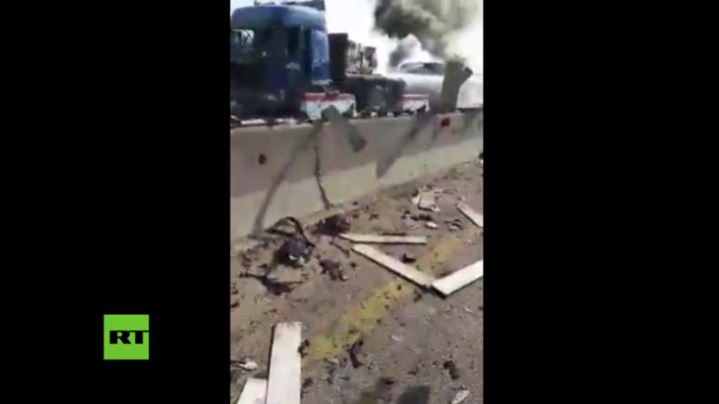 Syrien: Doppelbomben-Anschlag in Hafenstadt Tartus - Standort vom russischen Marinestützpunkt