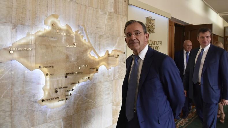 Französischer Abgeordneter Thierry Mariani: Kiew verschleiert den wahren Sachverhalt auf der Krim