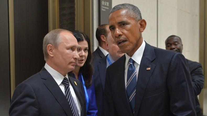 Putin und Obama besprechen am Rande des G20-Gipfels Konflikte und Cybersicherheit