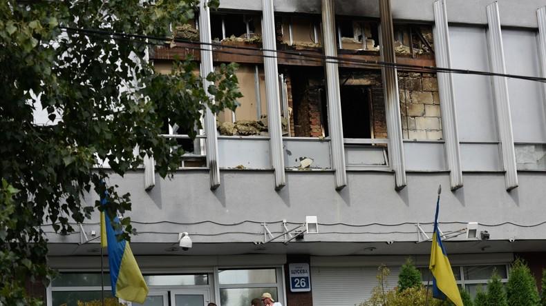 Ukraine: Brandanschlag auf oppositionellen TV-Sender Inter in Kiew