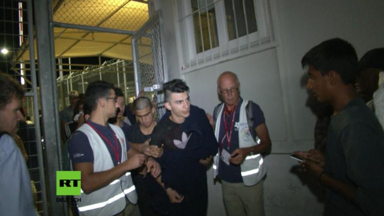Griechenland: Nach Massenschlägerei in Flüchtlingslager mindestens fünf verletzte Kinder