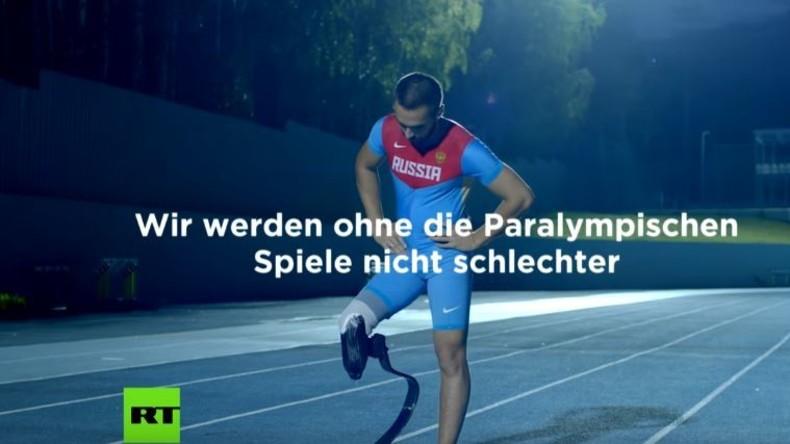 Die Antwort der russischen Paralympioniken auf den Ausschluss von Paralympischen Spielen