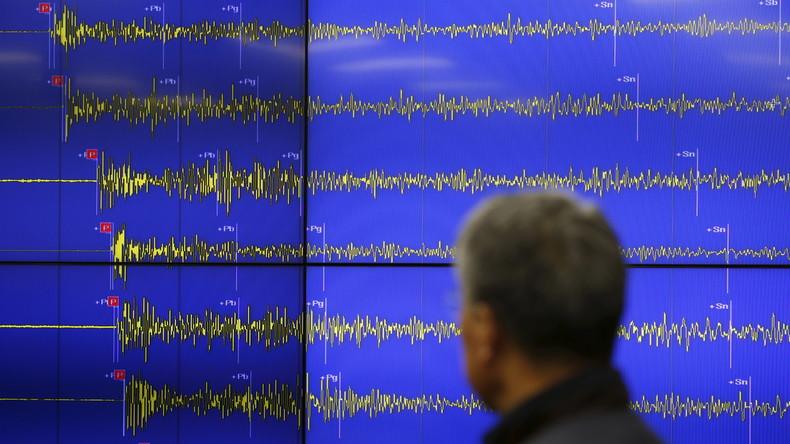 Sibirische Wissenschaftler erfinden neue Technologien zur Erdbebenvorhersage