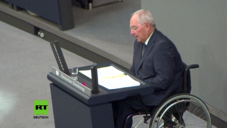 Schäuble: Westliche Militärinterventionen nicht immer erfolgreich, aber in der heutigen Welt nötig
