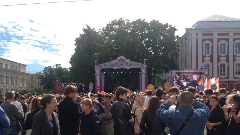 Ein Semester in St. Petersburg - Angekommen an der Uni