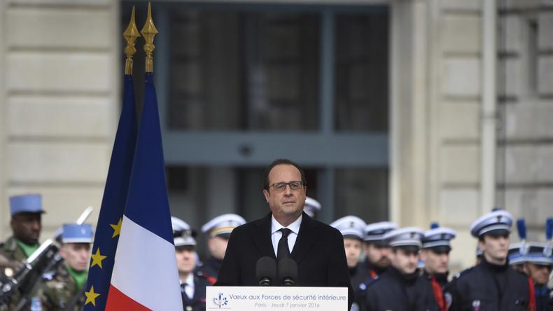 Auch Frankreichs Präsident François Hollande verlängerte jüngst erneut den Ausnahmezustand.