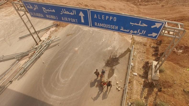 Zerschlagung von Syrien vorerst abgewendet - Teil 1