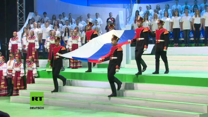 Moskau: Nach Ausschluss russischer Nationalmannschaft eröffnet Russland eigene Paralympics