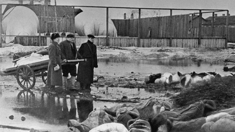 """""""Statt Soldaten schickten sie den Hunger"""" - 75. Jahrestag der Blockade von Leningrad"""