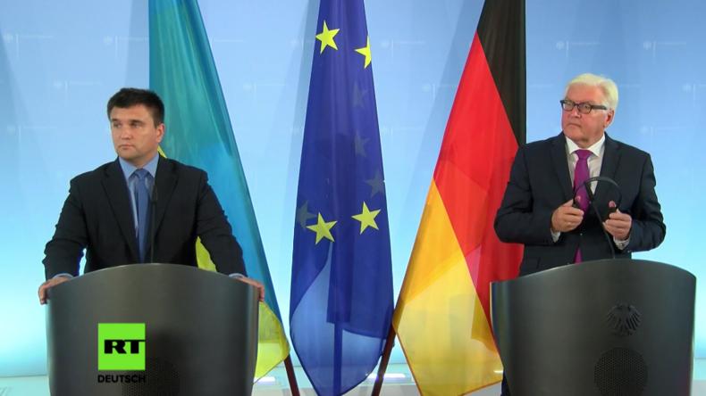 """Steinmeier: """"Die Ukraine kann heute und morgen auf die Unterstützung durch Deutschland bauen"""""""