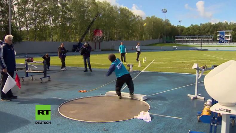 """Moskau: Russische Paralympioniken im Wettkampf bei alternativen Paralympischen """"Protest-Spielen"""""""