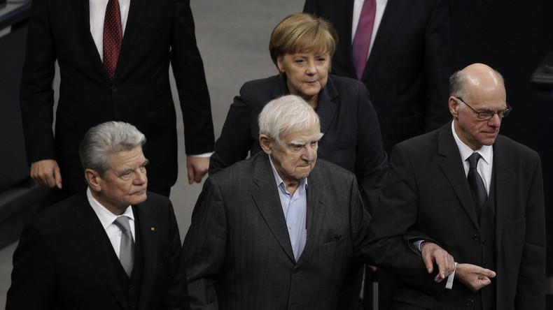 Daniil Granin im Deutschen Bundestag am 27. Januar 2016