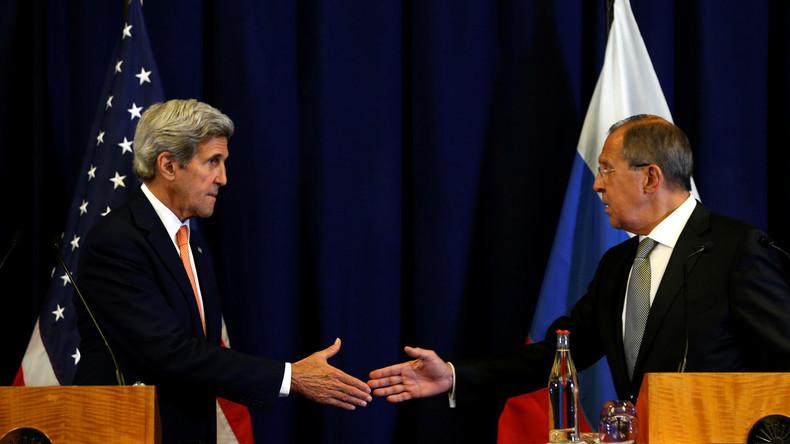 Wendepunkt in Syrien? Lawrow und Kerry vereinbaren Waffenstillstandsplan
