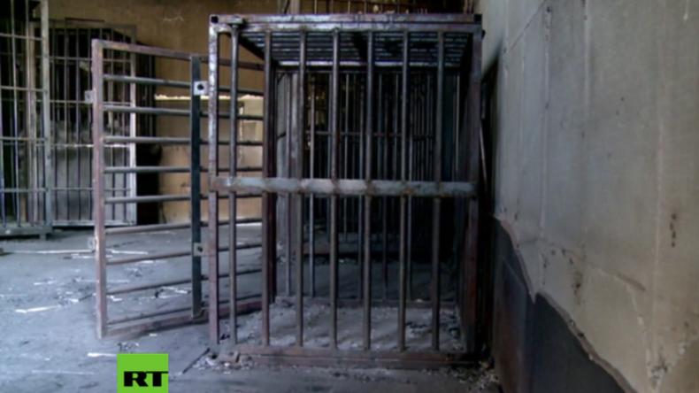 Irak: Grausame Entdeckung - Schariagericht und Gefängnis des IS mit Menschen-Käfigen gefunden