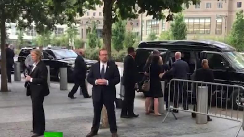 """Hillary Clinton erleidet erneuten """"Schwächeanfall"""" vor laufenden Kameras"""