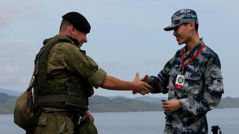 """""""Keine Gefahr für Drittländer"""" - Russisch-chinesische Manöver im Südchinesischen Meer"""
