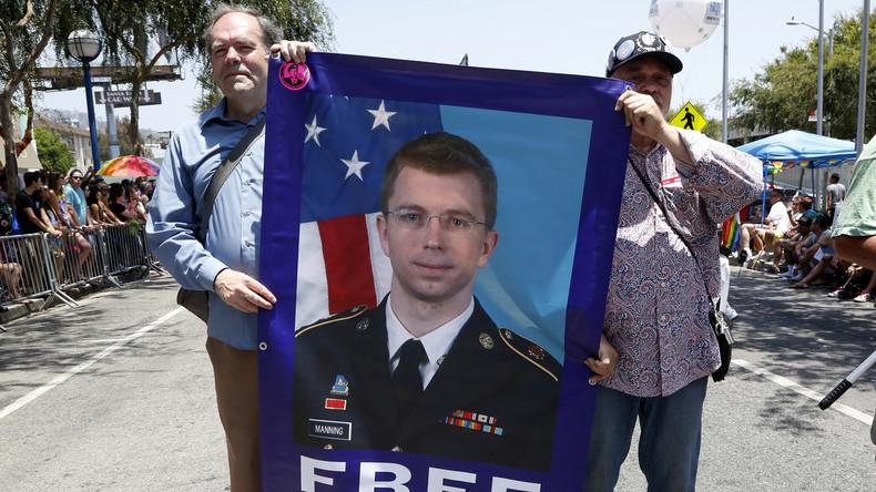 """""""Notfalls bis zum Tod"""" – Whistleblowerin Chelsea Manning tritt in Hungerstreik"""