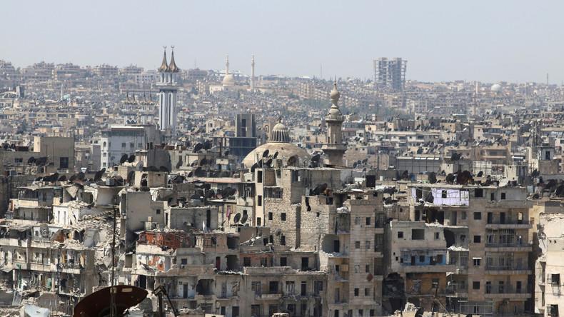 Live aus Aleppo nach Verkündigung der Waffenruhe