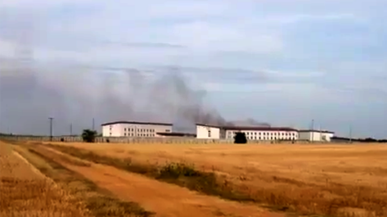 Gefängnisrevolte in Frankreich - [Fotos, Videos]