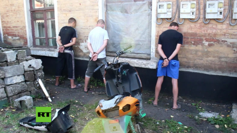 """Donezk: Anschlagsgruppe verhaftet -  Beteiligter erklärt: """"Aufträge kamen vom ukrainischen Militär"""""""