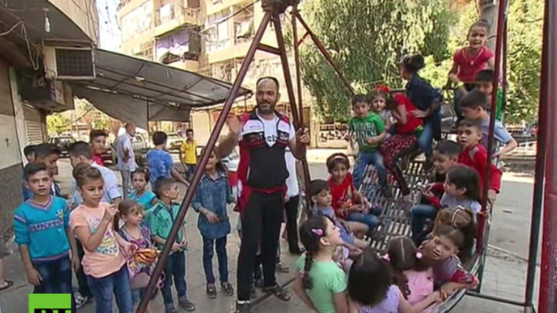 Aleppo: Tag 1 nach der Waffenruhe – In den Straßen spielen wieder Kinder
